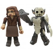 Diamond Select Toys Marvel Minimates: Thor 2: Series 53 Darcy and Dark Elf Action Figure, 2-Pack