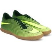 Nike BRAVATAX II IC Football Shoes For Men(Black, Green)