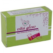Vita Glow Skin Whitening Anti- Acne Soap 135g Pack of 5