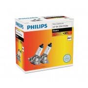 SET 2x Bec auto Philips VISION 12972PRC2 H7 PX26d/55W/12V