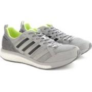 Adidas ADIZERO TEMPO 9 M Running Shoes For Men(Grey)