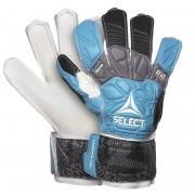 portar manusi Select GK mănuși 22 Flexi Prindere Plat tăiat albastru negru