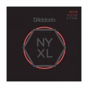 D'Addario NYXL 10-74 Carbon Steel Alloy 8-string