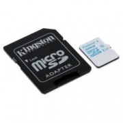Kingston - Carte mémoire flash (adaptateur microSDXC vers SD inclus(e)) - 64 Go - UHS Class 3 / Class10 - microSDXC UHS-I