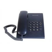 Žični telefon Panasonic KX-TS500FXC, teget plava