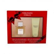 Vera Wang Embrace Grean Tea and Pear Blossom confezione regalo eau de toilette 30 ml + lozione corpo 75 ml donna