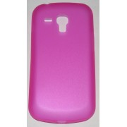 PC кейс мек мат гръб за Samsung S7562 Galaxy S Duos Розов