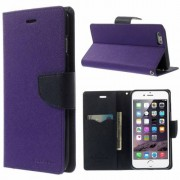 Mercury Pouzdro / kryt pro Apple iPhone 6 / 6S - Mercury, Fancy Diary Purple/Navy