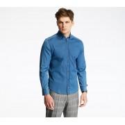 Pietro Filipi Men's Denim Shirt Blue