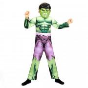 Verkleedkostuum van de 'Hulk'