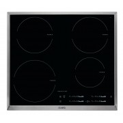 AEG HK6542H0XB Built-in Zone induction hob Black, Stainless steel