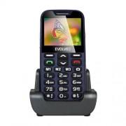 EVOLVEO EasyPhone XD, telefón pre seniorov, modrý