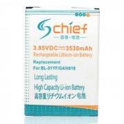"""Reemplazo de 3.85V bateria """" 3530mAh """" para LG G4 - blanco"""
