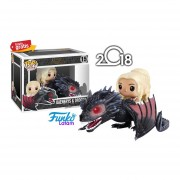 Daenerys & Drogon Game Of Thrones Funko Pop Serie 2018