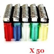 Briquet jetable x50