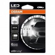 Osram W5W LED COOL WHITE 1W 12V wedge W2,1X9,5D 6000K 2-pak
