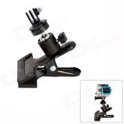 Fat Cat M-CL Mount Clamp para GoPro heroe 4/3 + / 3/2/1 / SJ4000 / Camaras Universal