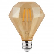 Bec Led Rustic Diamond E27 6W Alb Cald