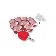 Betzold Jubiläum 50 Tischtennisschläger Smash, 10er-Set