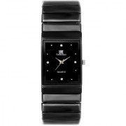 New IIk Black Square Dile Best Designing Stylist professional analog Watch For Men Boys