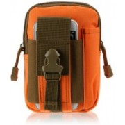 CARRY TRIP Mobile Pouch(Brown, Orange)