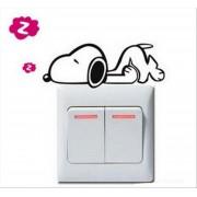 1PC F Dog samolepka na vypínač (AL)