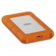 Lacie Rugged USB-C 1TB - удароустойчив външен хард диск с USB-C (сребрист-оранжев)