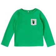 Garnamama dječja majica s kaktusom, 80, zelena