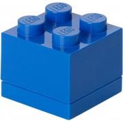 LEGO Opbergbox - 4,5x4,5x4 cm – Blauw