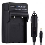 PULUZ® 2 i en batteriladdare för Canon NB-4L / NB-8L batteri