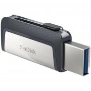 Memoria USB 128GB Sandisk Ultra Dual USB 3.0 a Tipo C SDDDC2-128G-G46