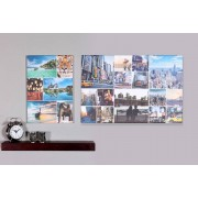 A2 or A1 Personalised Photo Collage Canvas