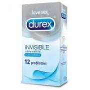 Reckitt Benckiser Durex Invisible profilattici ultra sottili e ultra sensibili (12 pz)