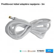 SMARWI - Predlžovací kábel adaptéra napájania - 3m