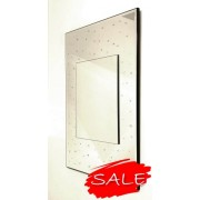 Polka Mirror. Overall Size.51x76cm