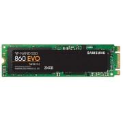 Samsung MZ-N6E250BW 860 Evo series 250Gb NGFF(M.2) SATA3(6Gb/s) MLC SSD type 2280 - 22x80x2.4mm