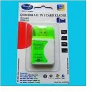 All in One USB PC MEMORY Card Reader Quantum 100 Original Latest
