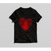 Tricou Heart Print