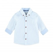 Feetje Streep Overhemd Blauw Mt 74