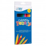 Baker Ross Colouring Pencils (Per 3 packs)