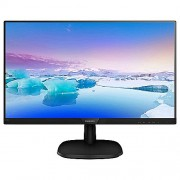 "Philips 27"" 1920x1080 Full HD 5ms VGA DVI HDMI Dar Çerçeveli IPS LED Ekran Monitör 273V7QDSB-01"