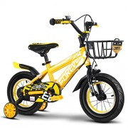 SL&VE Kids Bikes, 2-9 Years Old Boy and Girl Bike 2.5 inch Off-Road Tires Non-Slip wear-Yellow 20""