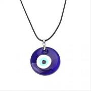SWAOOS Vidrio Azul Mal Ojo 30Mm Mal Ojo Encantos Nacklace Colgantes Para Mujeres Mal Ojo Collar Joyería Accesorios Hallazgos Haciendo