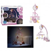 Chicco next2 dreams giostrina 3 in 1 rosa