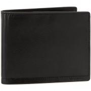 Nagy férfi pénztárca VALENTINI - 169-137 Black