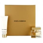 Dolce & Gabbana The One coffret IX. Eau de Parfum 30 ml + leite corporal 50 ml