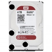Hard Disk Drive Western Digital RED 3.5'' HDD 4TB 5400RPM SATA III 6Gb/s 64MB | WD40EFRX - 4TB