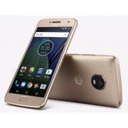 "Smartphone, Motorola Moto G5+, DualSIM, 5.2"", Arm Octa (2.0G), 3GB RAM, 32GB Storage, Android 7.0, Gold (SM4467AJ1N6)"