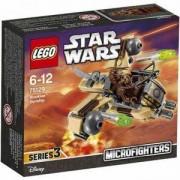 Конструктор Лего Стар Уорс - Kорабът на Ууки - LEGO Star Wars, 75129