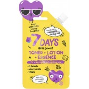 7 DAYS YOUR EMOTIONS TODAY Toner+Lotion+Essence 20 g